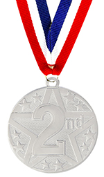 2nd Place Star Medal