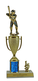 "12"" Baseball Cup Trim Trophy"