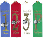 Basketball Event Ribbons