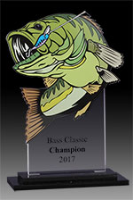 Full Color Acrylic Bass Award