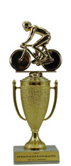 "9"" Bicycle Cup Trophy"
