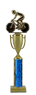"15"" Bicycle Cup Trophy"