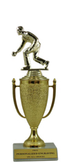 "9"" Bocce Ball Cup Trophy"