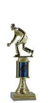 "9"" Excalibur Bocce Ball Trophy"