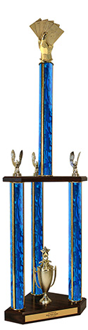 "37"" Cards Trophy"