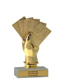 "6"" Cards Economy Trophy"