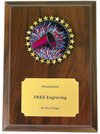 Cheerleading Insert Plaque