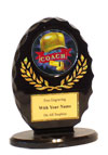 "5"" Oval Coach Award"