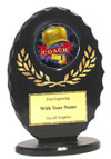 "6"" Oval Coach Award"