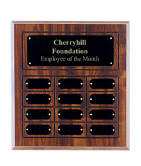 12 Plate Cherry Perpetual Plaque