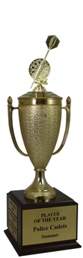 Champion Darts Cup Trophy