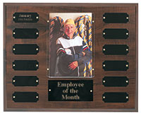 Cherry Employee of the Month Plaque
