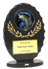 "6"" Oval Bass Award"