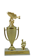 "9"" Bass Cup Trim Trophy"