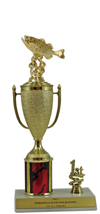 "11"" Bass Cup Trim Trophy"