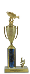 "13"" Bass Cup Trim Trophy"
