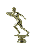 Football Figurine - Metal - 5""
