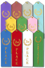 Award Ribbons - 25 Pack