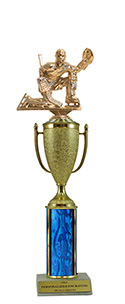 "13"" Goalie Cup Trophy"