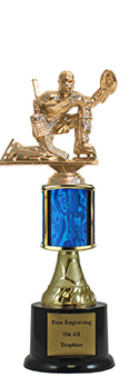 "10"" Goalie Pedestal Trophy"