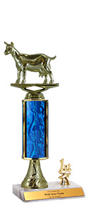 "10"" Excalibur Goat Trim Trophy"
