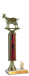 "12"" Excalibur Goat Trim Trophy"