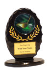 "5"" Oval Golf Award"