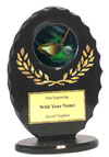 "6"" Oval Golf Award"
