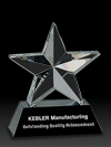 3-D Crystal Star Award