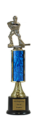 "13"" Hockey Pedestal Trophy"