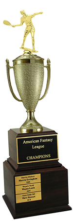 Perpetual Racquetball Trophy