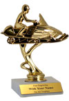 "6"" Snowmobile Trophy"
