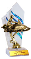 """Flames"" Snowmobile Trophy"