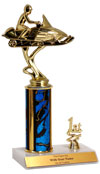 "10"" Snowmobile Trim Trophy"