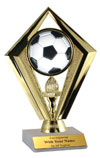 Diamond Soccer Trophy