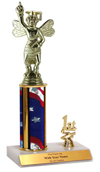 "10"" Spelling Bee Trim Trophy"
