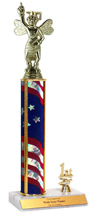 "14"" Spelling Bee Trim Trophy"