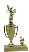 "10"" Spelling Bee Cup Trim Trophy"