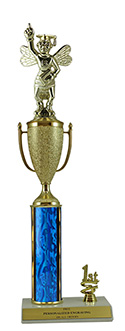 "16"" Spelling Bee Cup Trim Trophy"