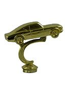 Stock Car Figurine - Metal - 4""