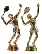 "5"" Tennis Figurine"