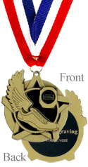 All Star Gold Track Medal
