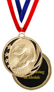 Black Star Track Medal