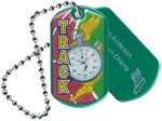 Track Epoxy Dog Tag