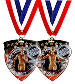 Track Shield Medal