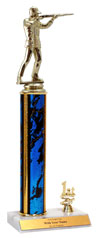 "14"" Trap Shooting Trim Trophy"