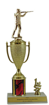 "12"" Trap Shooting Cup Trim Trophy"