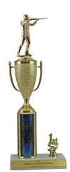 "14"" Trap Shooting Cup Trim Trophy"