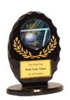 "5"" Oval Volleyball Trophy"