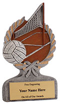 Centurion Volleyball Resin Award